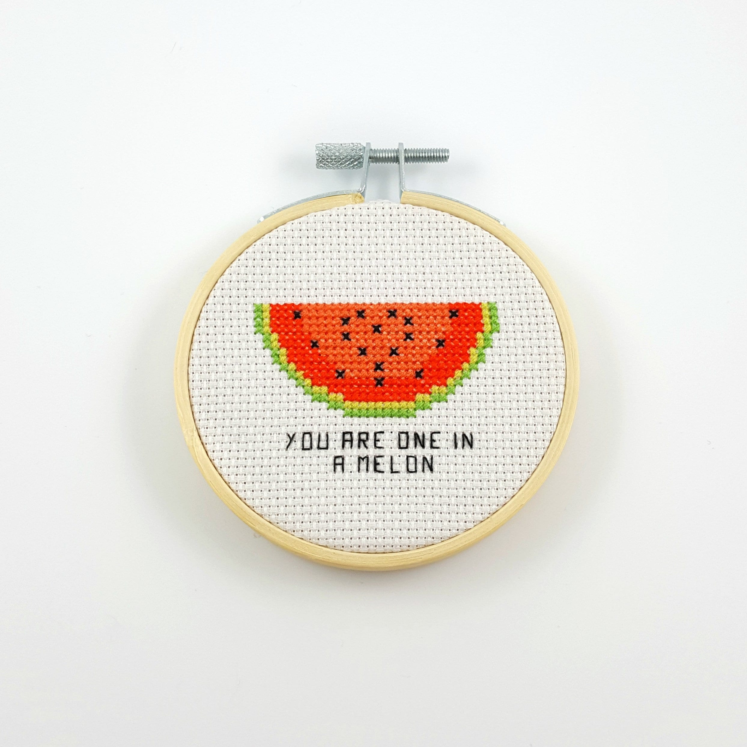 You are one in melon cross stitch pattern, valentine PDF pattern, valentine  cross stitch, funny cross stitch, watermelon cross stitch