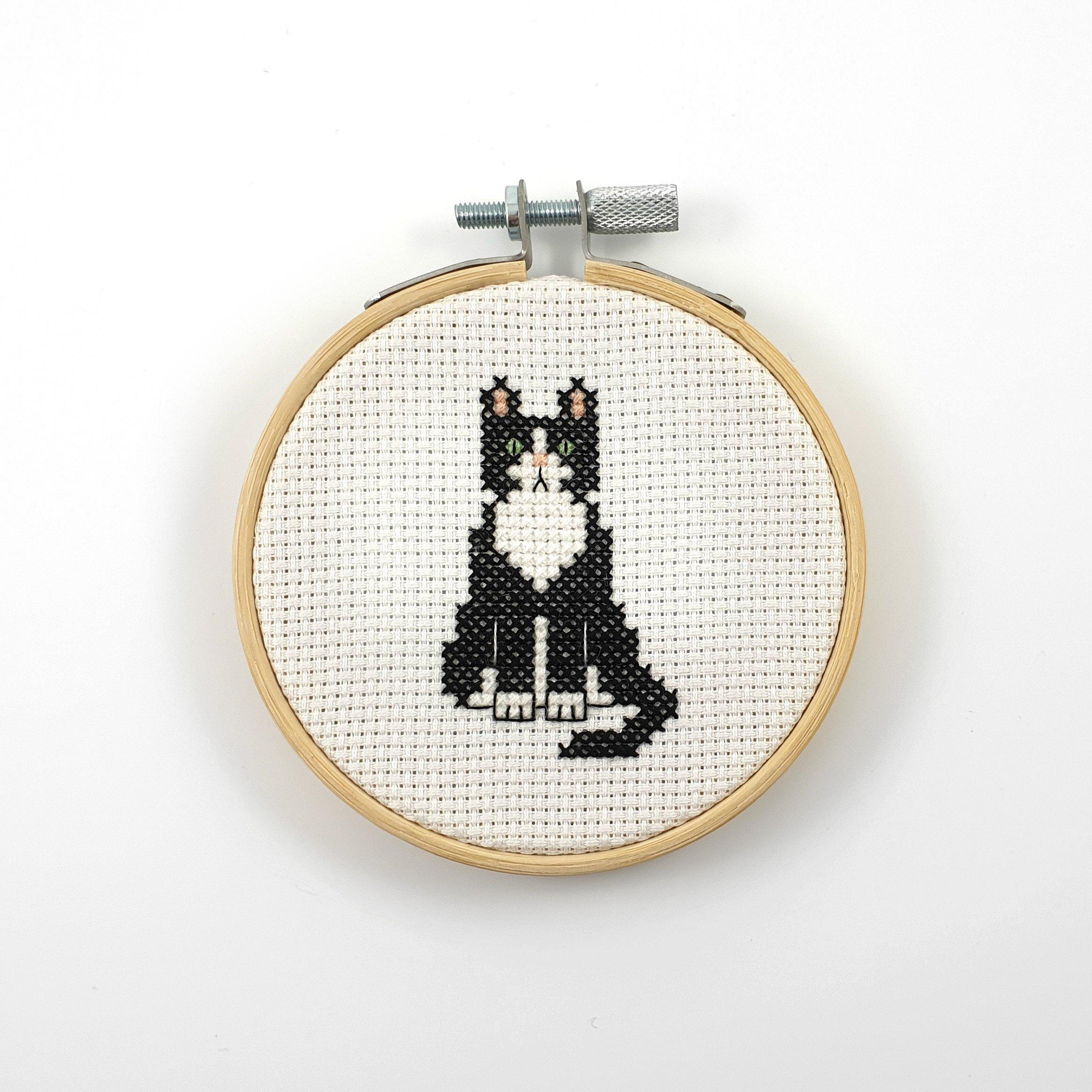 Dog cross stitch pattern Wall decor Wall art Cat cross stitch pattern