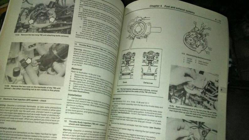 94 geo metro repair manual