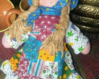 Vintage American Greetings Knickerbockers Holly Hobbie Doll