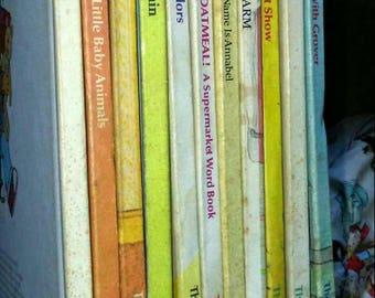 11 Sesame Street 1980 Books-Club