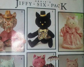 Vintage Simplicity Kitties Cats Clothes Pattern-unused