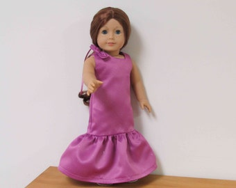 60c65d2e4 Special Occasion/ Jr. Bridesmaid Dress with Matching Shoes For Your American  Girl Doll