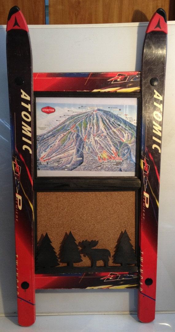 Passen Sie Ihrer eigenen Ski-Bilderrahmen mit Pinnwand und | Etsy