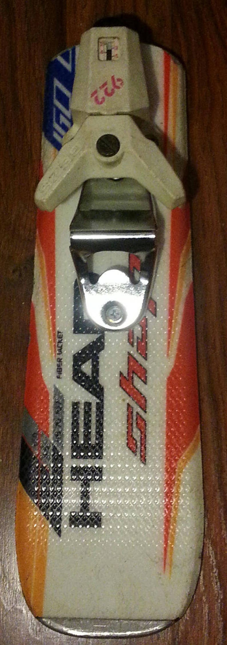 Wall Bottle Opener made from recycled ski tail makes is a image 0