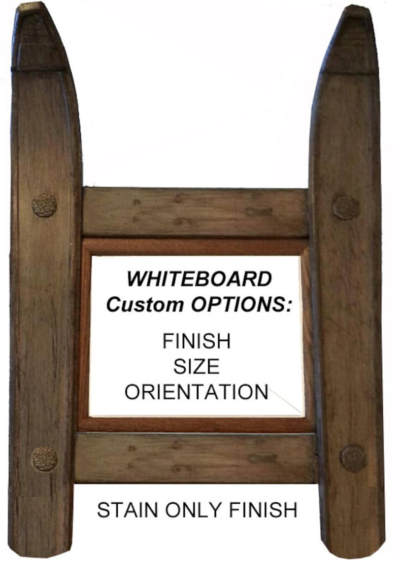CUSTOMIZE your own Ski Whiteboard made in Vermont and image 0