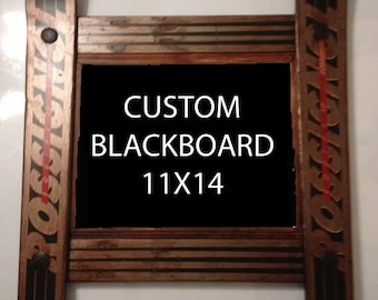 CUSTOMIZE your own Ski Blackboard made in Vermont and handcrafted out of Recycled Skis makes a ski gift for skiers