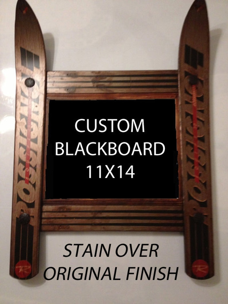 CUSTOMIZE your own Ski Blackboard made in Vermont and image 0