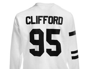 Clifford Tattoos Sweatshirt Sweater Crew Neck Shirt Add Clifford  95 – Size S M L XL