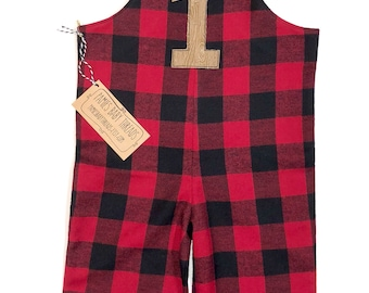 6f3fb0a39fbde Lumberjack First Birthday Outfit