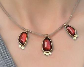 Blood drops - necklace