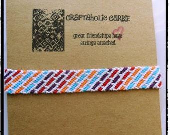 Woven Friendship Bracelet (#118)