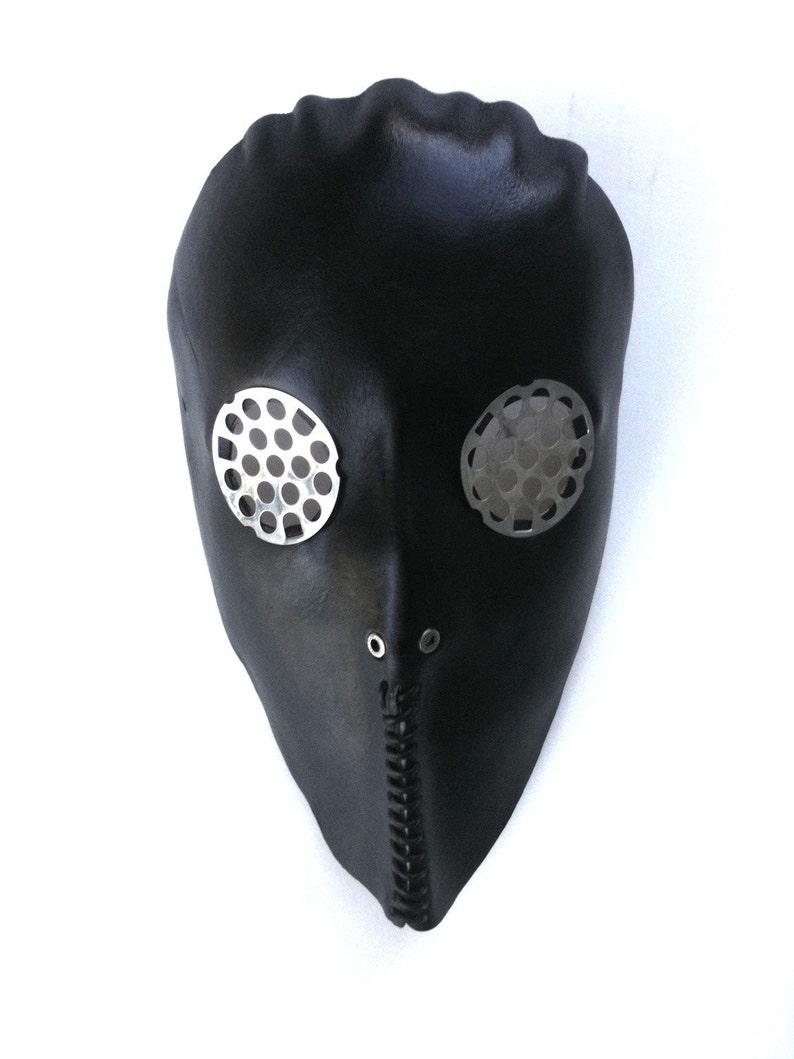 Death Squad 1 Leather Mask