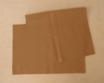 Pendleton Wool Fabric / Remnant / #184 Camel Tan Eco-Wise  / 1 piece / Free shipping in US
