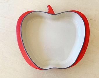 Le Creuset Cast Iron 2 Quart Apple Tatin Pan - rare!