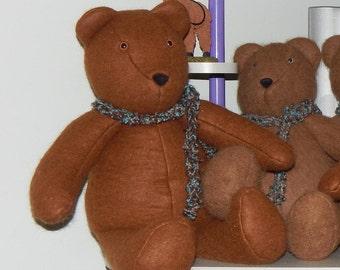 Suri Alpaca Teddy Bear-Felt