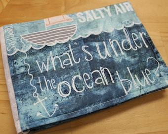 What's Under the Ocean Blue Cloth Childrens Book