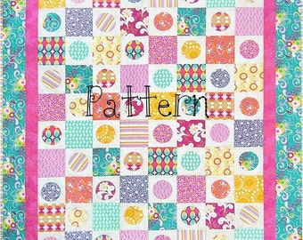 Quilt Pattern Circle Gets the Square AccuQuilt Friendly