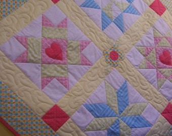 Quilt Pattern for Shoot for the Stars Quilt