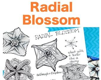 "Radial Blossom ""Video to Ebook"" - Download PDF Tutorial Ebook"