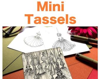 "Mini Tassels ""Video to Ebook"" - Download PDF Tutorial Ebook"