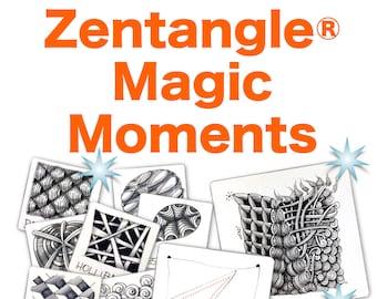 Zentangle® Magic Moments - Download PDF Tutorial Ebook