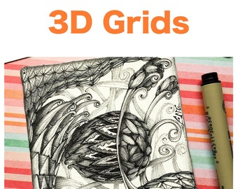 "3D Grids ""Video to Ebook"" - Download PDF Tutorial Ebook"