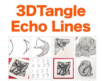 3D Tangle Echo Lines - Download PDF Tutorial Ebook