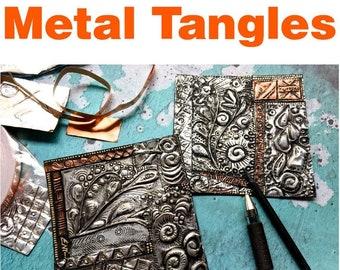 "Metal Tangles ""Video to Ebook"" - Download PDF Tutorial Ebook"