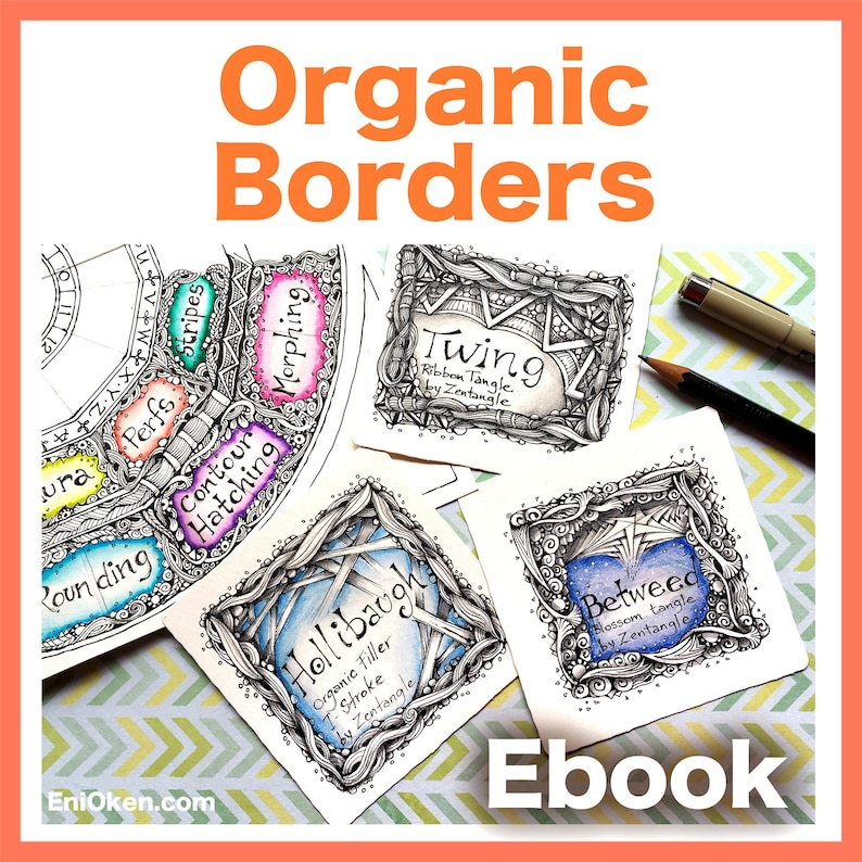 Organic Borders Video to Ebook  Download PDF image 0