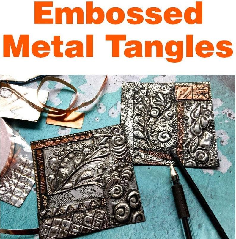 Metal Tangles Video to Ebook  Download PDF image 1