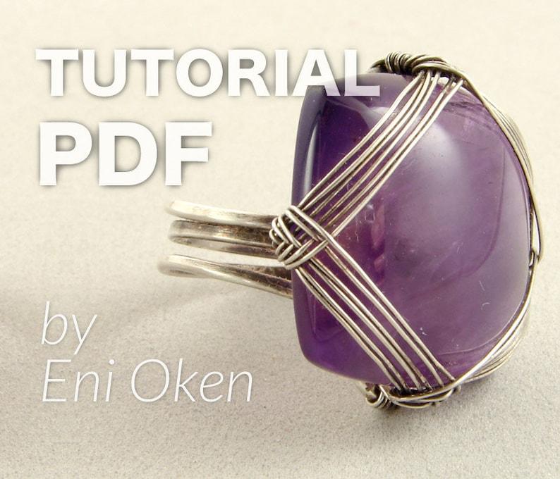 Square Cab Ring PDF tutorial image 0