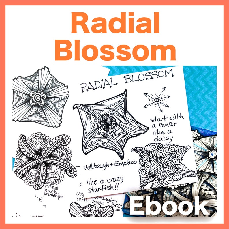 Radial Blossom Video to Ebook  Download PDF image 0