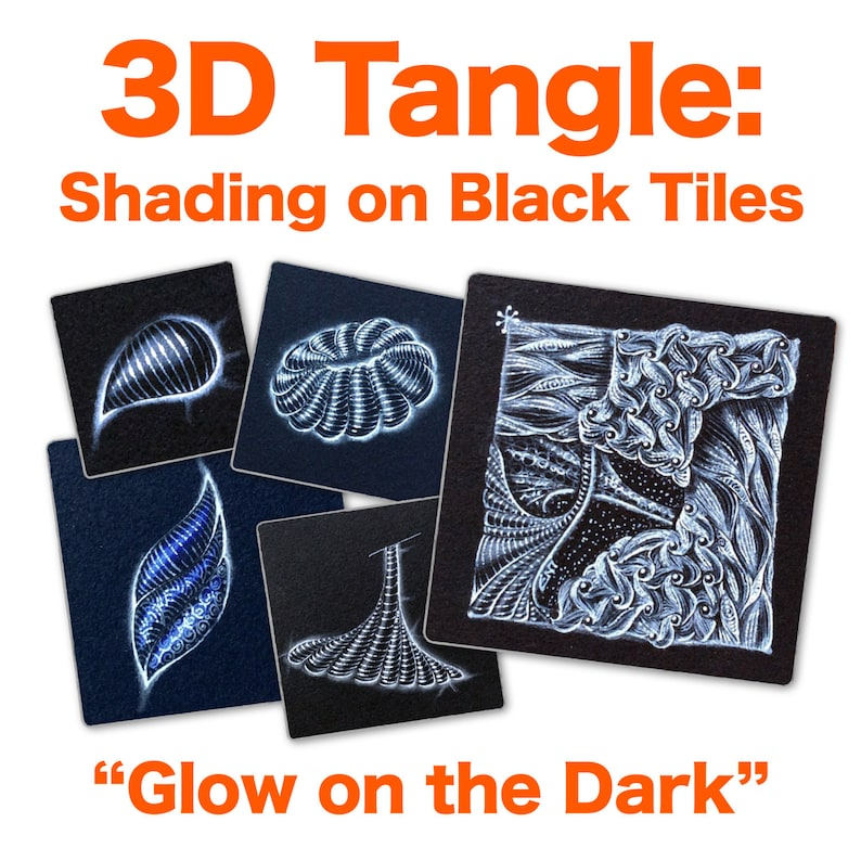 3D Tangle Glow on the Dark  Download PDF Tutorial Ebook image 0