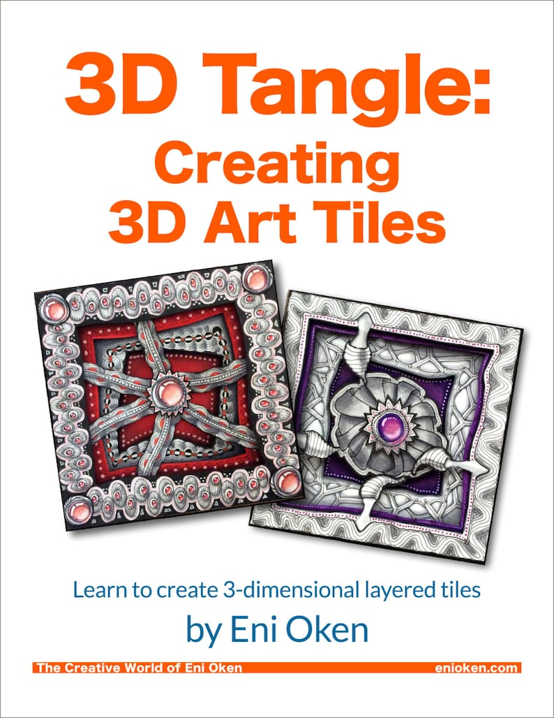 3D Tangle Creating 3D Art Tiles  Download PDF Ebook Tutorial image 0