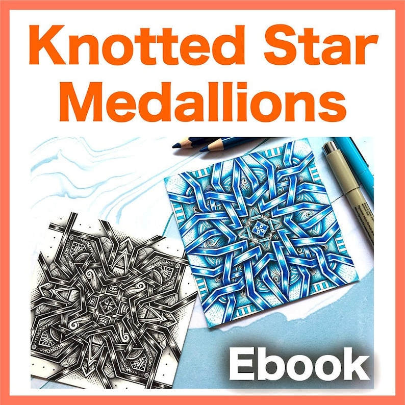 Knotted Star Medallions Video to Ebook  Download image 0