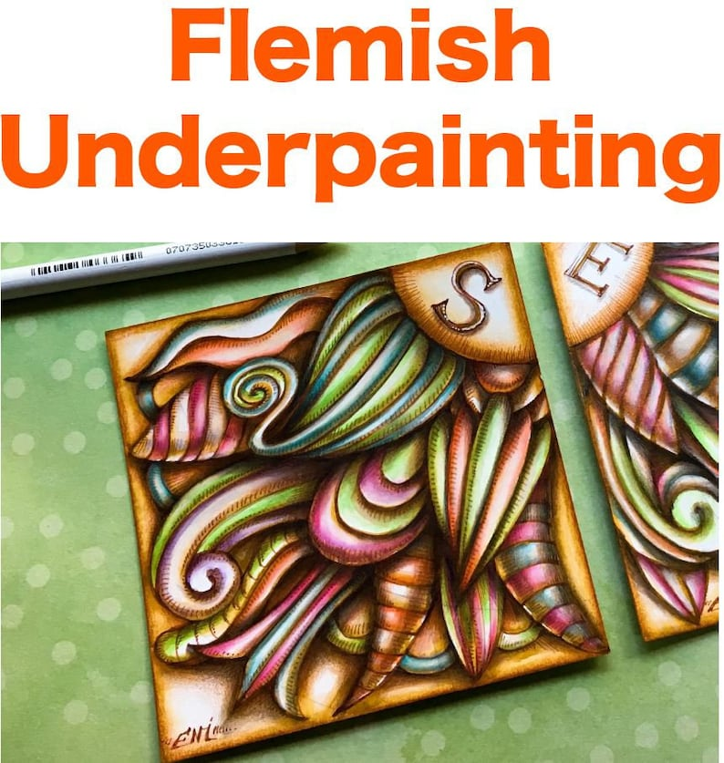 Flemish Underpainting Video to Ebook  Download image 1