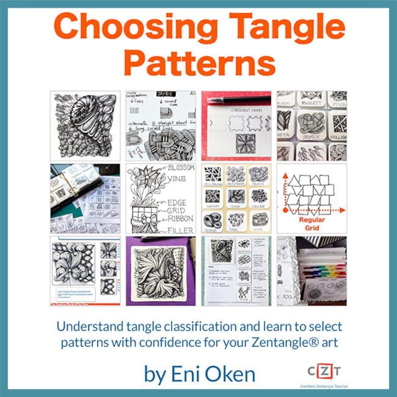 3D Tangle Choosing Tangle Patterns  Download PDF Tutorial image 0