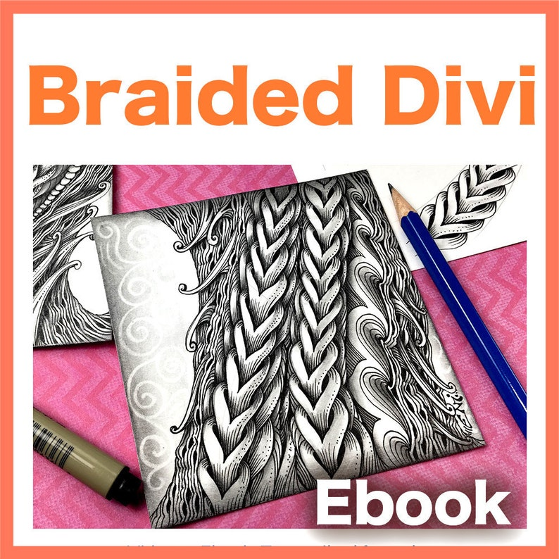 Braided Divi Video to Ebook  Download PDF image 1