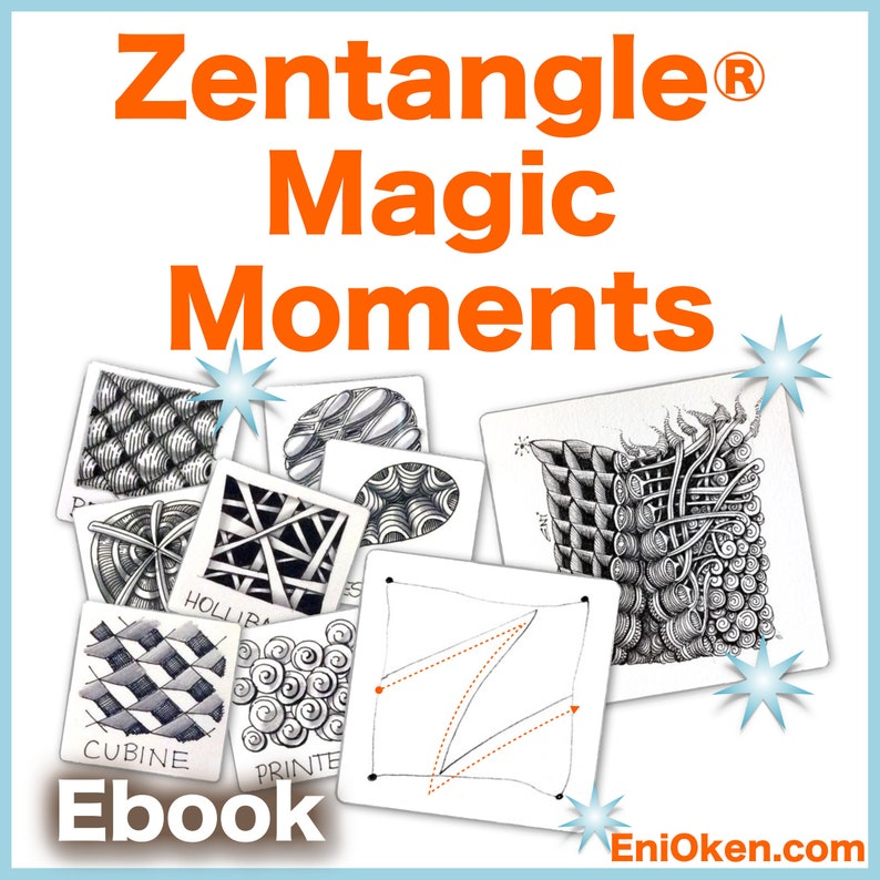 Zentangle® Magic Moments  Download PDF Tutorial Ebook image 0