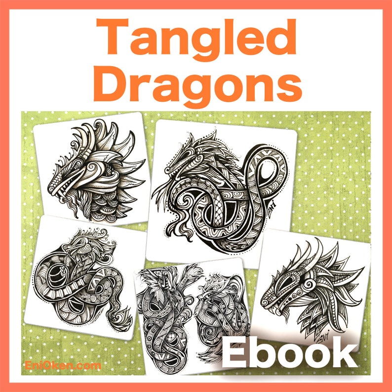 Tangled Dragons Video to Ebook  Download PDF image 0
