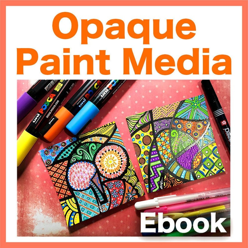 Opaque Paint Markers Video to Ebook  Download PDF image 1