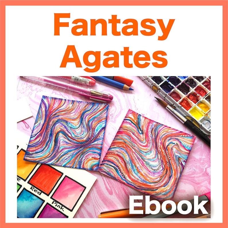 Fantasy Agates Video to Ebook  Download PDF image 1