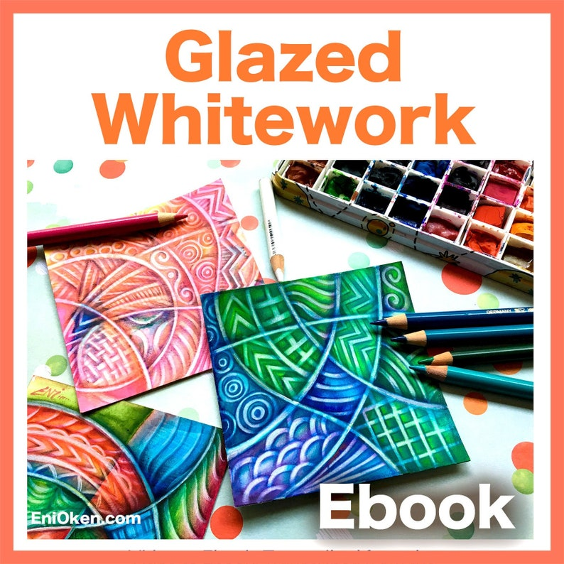 Glazed Whitework Video to Ebook  Download PDF image 0
