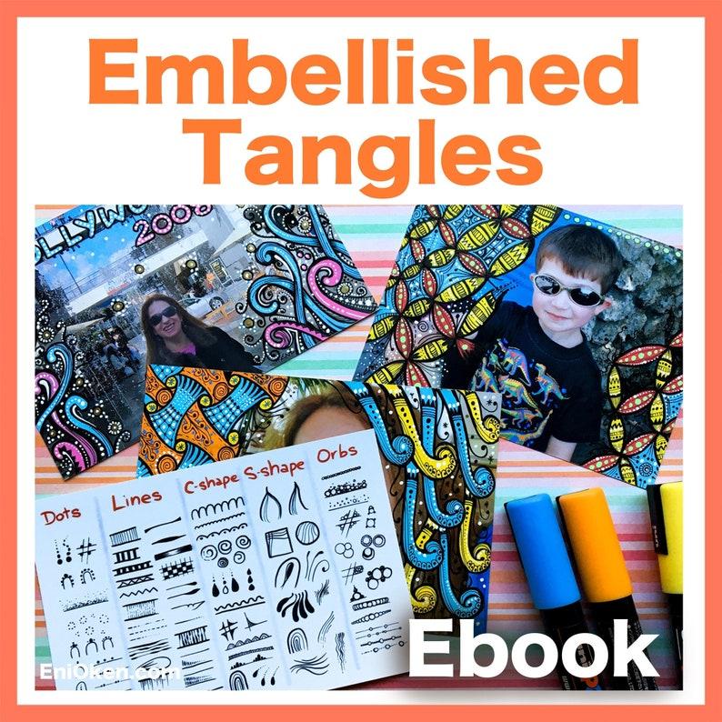 Embellished Tangles Video to Ebook  Download PDF image 1