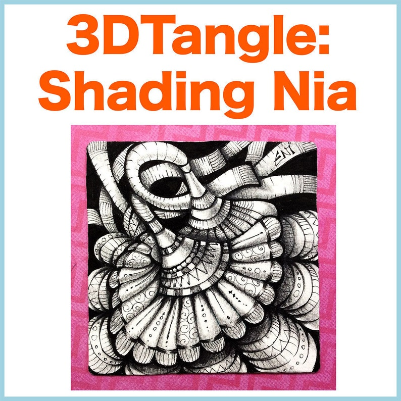 3D Tangle Shading Nia  Download PDF Tutorial image 0