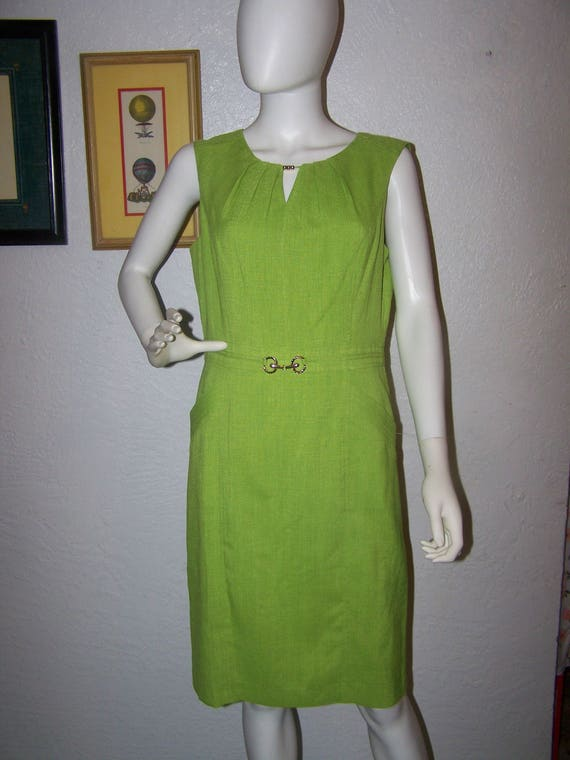 Ellen Tracy New With Tag Elegant Black Sleeveless Women Fit /& Flare Dress size 2