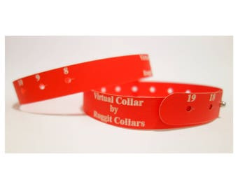 Virtual Dog Collar Measure Dog's Neck For Custom Dog Collar-Receive full 5 dollar credit-Code will be enclosed with your Virtual Dog Collar