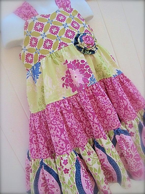 Mädchen Baby Schwester Sommerkleid PDF Muster ASHLEY Nähen | Etsy