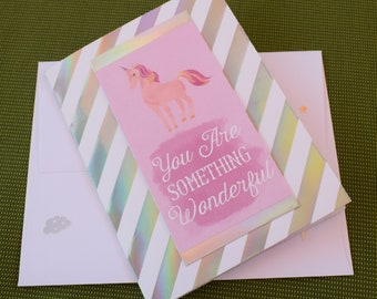 You are Something Wonderful Card